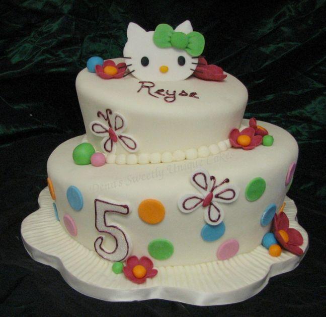 Hello Kitty Birthday Cake Decorations