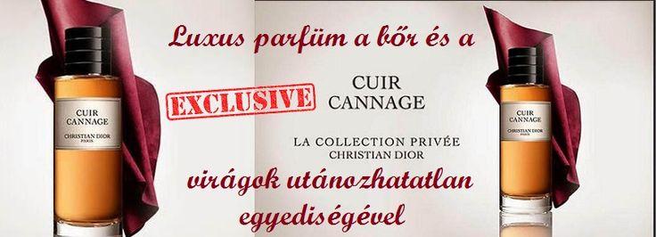 Dior Cuir Cannage unisex parfüm  Luxus parfüm a bőr és a virágok utánozhatalan egyediségével