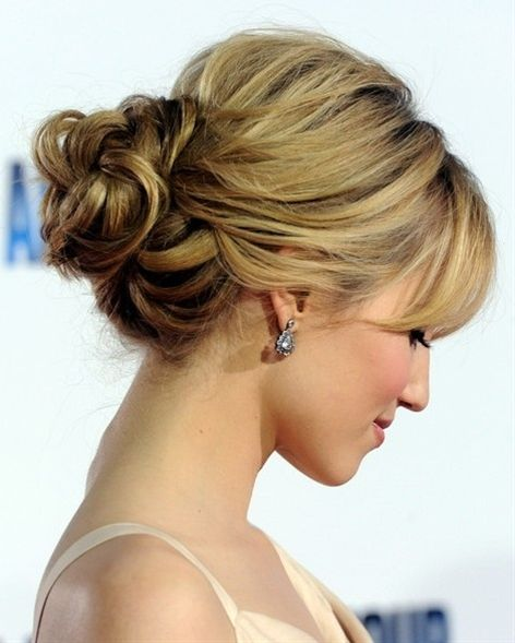 Short Hair Updos - Click image to find more Hair & Beauty Pinterest pins