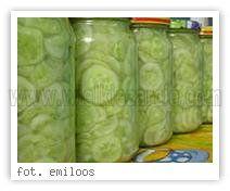 Ogórki z czosnkiem - sałatka na zimę