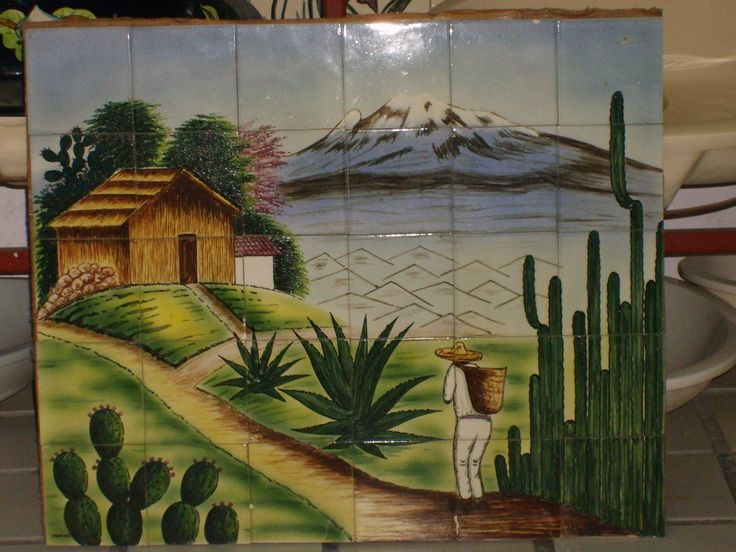 Como Hacer Un Mural De Paisaje Jpg 2816 2112 Painting Art