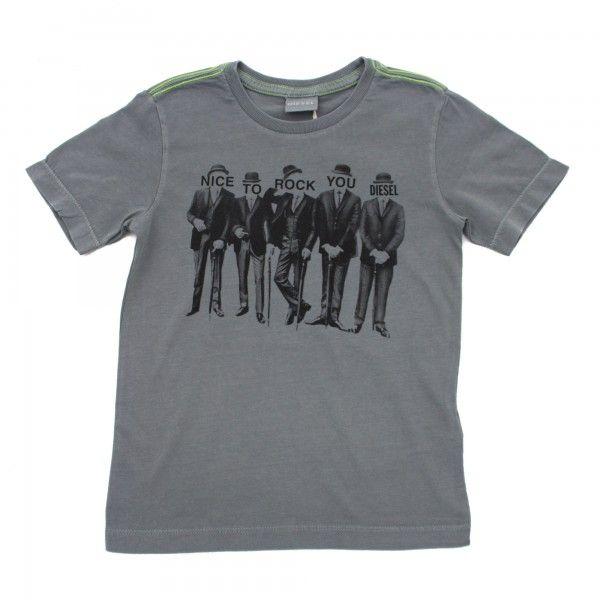 Diesel T-shirt manica corta con stampe