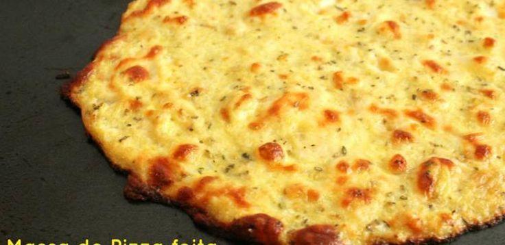 Dica para você: Receita de massa de pizza light sem farinha. Compartilhe com amigos!