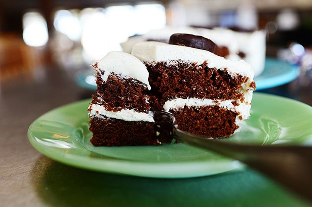 Chocolate Mint Cake by Ree Drummond / The Pioneer Woman, via Flickr