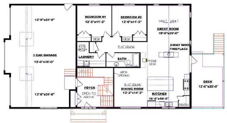 13 best walkout plans images on pinterest floor plans for Edesign plans