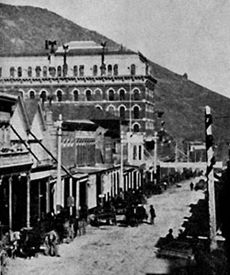 Carson City, Nevada is located about 30 miles south of Reno. It became a union western city during the silver mining age. Many miners and locals would find their way to this town on weekends to do some drinking a gambling.