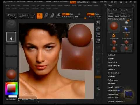 video tutorial MatCap Zbrush - YouTube