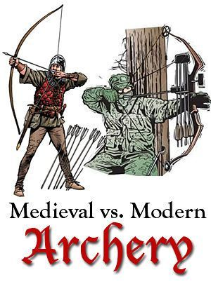 "I agree with about 90% of this. Medieval versus modern archery, part of the blog series ""Science in Science Fiction, Fact in Fantasy"" for writers."