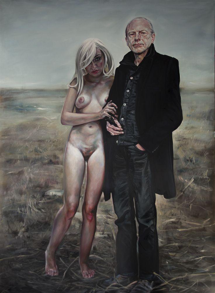 Homage Zbigniew Libera: one of my paintings. More: www.annakmita.com