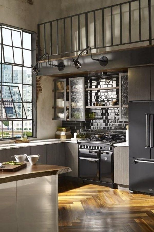 50 Easy Industrial Kitchen Decor Designs That You Can Create For