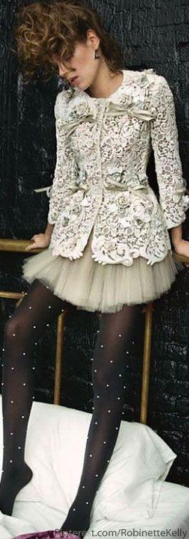 Dolce & Gabbana Alta Moda S/S 2013   Vogue Paris, May '13. Love the jacket.