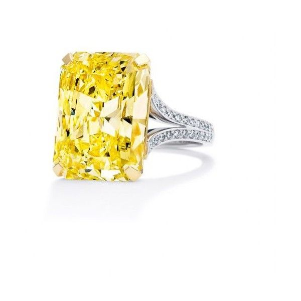La Grande Dame Yellow Diamond Ring | Boodles ❤ liked on Polyvore featuring jewelry, rings, yellow diamond rings, canary diamond jewelry, yellow diamond jewelry, canary yellow diamond ring and canary diamond ring