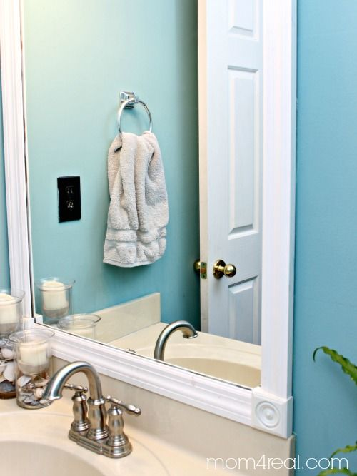 78 best ideas about budget bathroom makeovers on pinterest for Real simple bathroom ideas