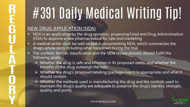 #TuracozHealthcareSolutions updates you on the points to be taken care of while filing a #NewDrugApplication ( #NDA ).