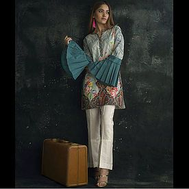 Threads and Motifs tunic #threadsandmotifs #pakistanifashion #pakistanidesigner #kurti