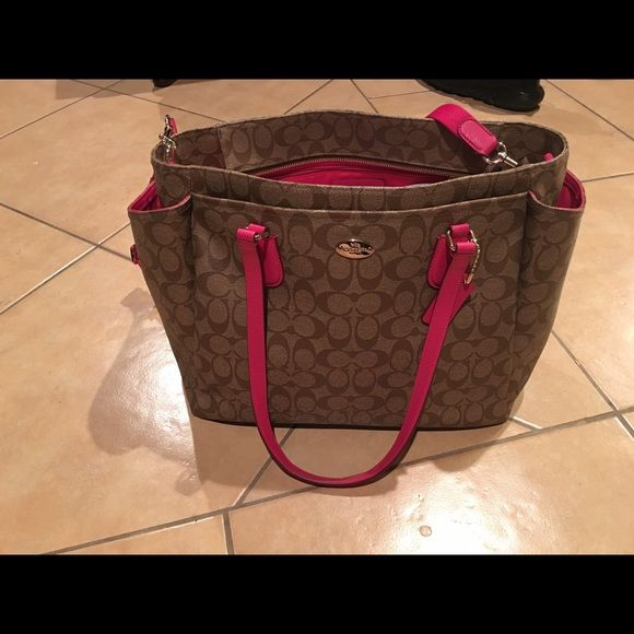 Coach diaper bag / large bag In great condition Coach Bags Baby Bags