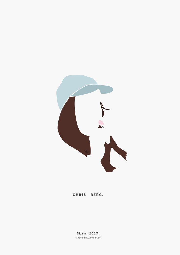 Chris Berg Ver II. SKAM. 2017. __________minimal project - ( Part 35 ) Source: nanaminhae.tumblr.com (please always credit me!) Buy it here: REDBUBBLE and my IG is brbrgraphics