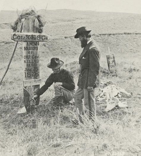 Little Big Horn photo by Stanley Morrow 1879 -- courtesy Little Bighorn Battlefield National Monument: