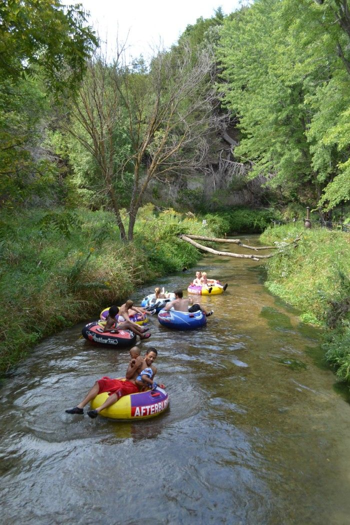 tubing on Long Pine Creek