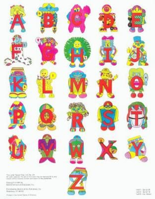 The Letter People!!! Loved them when I was little... I even bought them on DVD when my son was small! :)