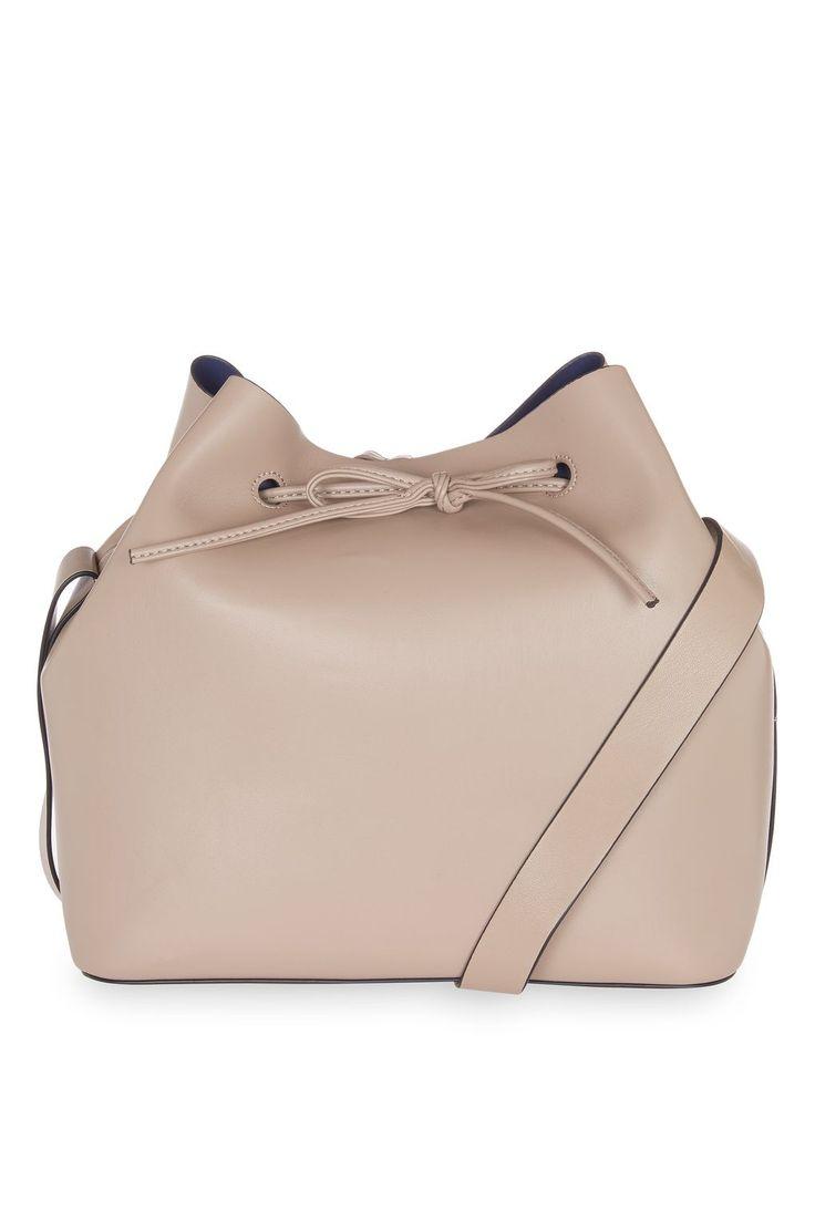 Topshop STELLA Soft Bucket Bag