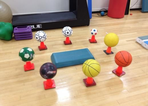 Balance game - great ideas for improving balance in peds