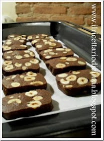 Biscotti cioccolato e nocciole: That There, Things To, Trays Baking, 2014 Bis, Biscotti Cioccolato, Fares From, Natale 2014, Anch Ios, Biscotti Cacao