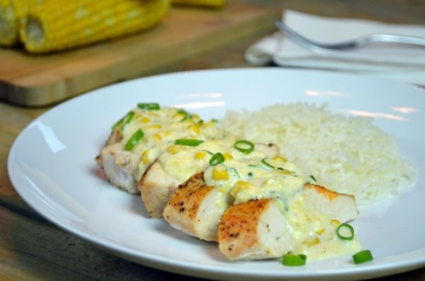 Chicken with Cream of Corn (Frango com Creme de Milho)