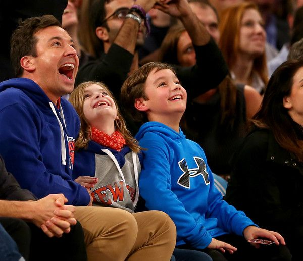 Jimmy Fallon Photos - Philadelphia 76ers v New York Knicks - Zimbio