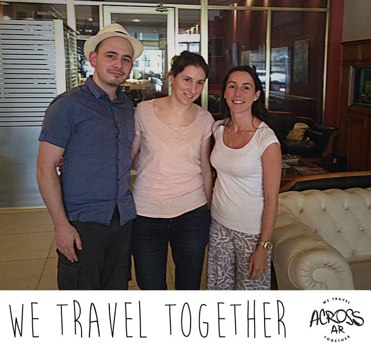Our Experience Manager Isabel, welcomed Marie-Pierre and Guillaume Assara, who traveled from France to visit Patagonia Argentina in 18 days. We wish an excelent trip around Ushuaia, El Calafate, Bariloche, 7 lakes and Buenos Aires. Thank you for choosing Across Argentina !! #WeTravelTogether #Welcome #Travel #Experience #Trips #Tours #Vacation #Holidays #AroundTheWorld #Places #Destinations #Patagonia #Argentina