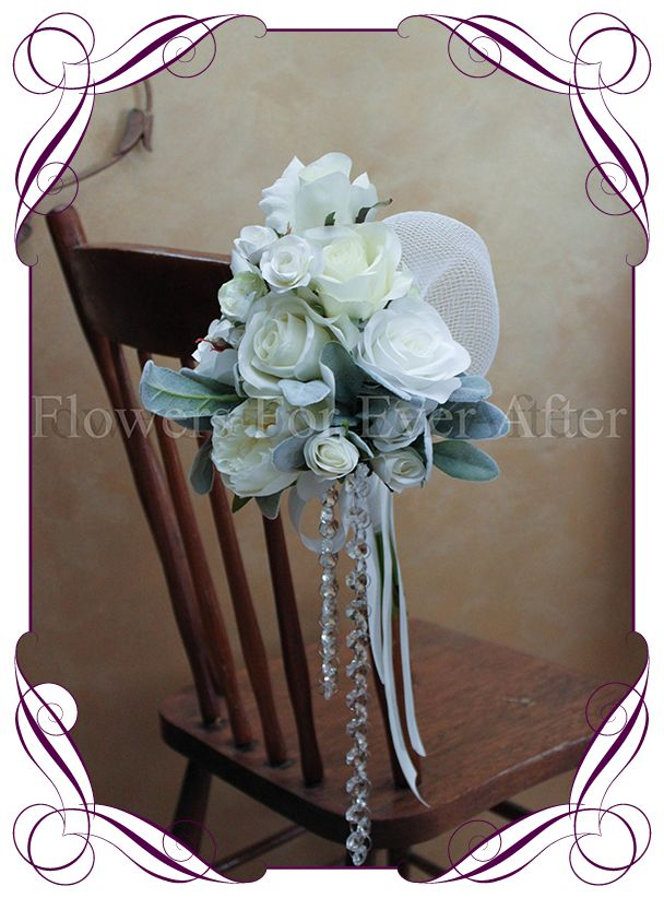 8 best melbourne wedding decor hire images on pinterest crystal ceremony pew decorations for hire melbourne features white and ivory peonies and roses with junglespirit Choice Image