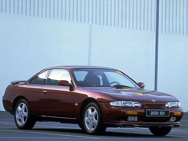 Nissan 200sx. Stock n steady.
