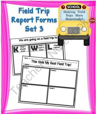 Mer enn 25 bra ideer om Field trip report på Pinterest - trip report template example