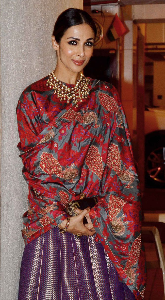 Malaika Arora Khan : Photos: Bollywood celebs at Saif Ali Khan's Diwali bash