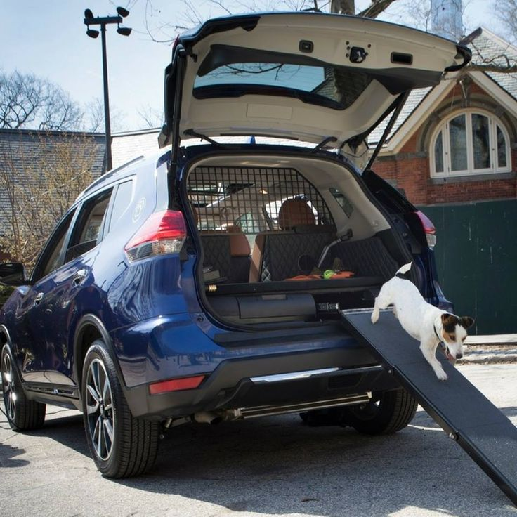 Dog lovers rejoice! Nissan launched the Rogue Dogue at the New York Auto Show and it has everything you could think of.