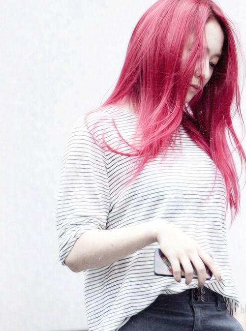 Krystal Soojung Kpop Hairstylehair Waxkrystal Fxhair