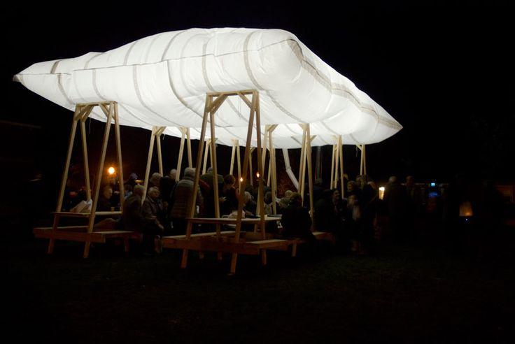 inflatable diy, leuk begin concept