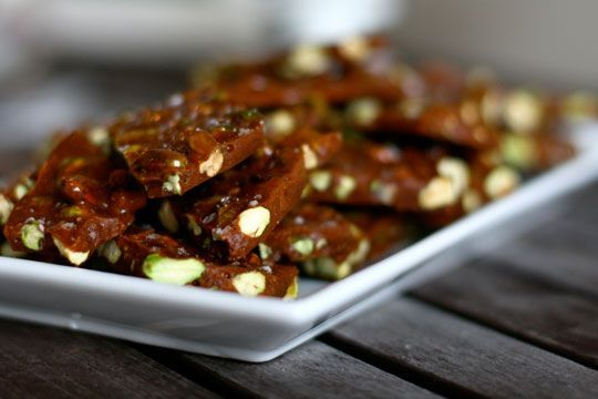 Salted Pistachio Brittle | Recipe