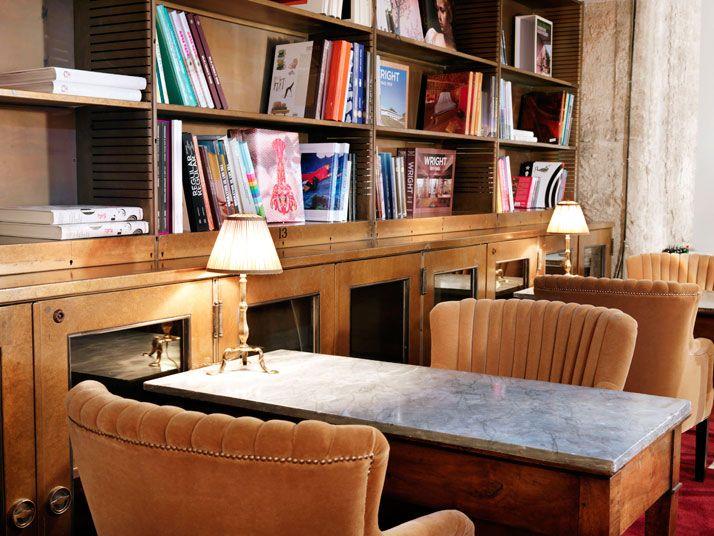 Library, photo © Soho House Berlin                                                                                                                                                                                 More