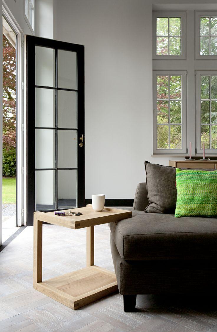 Frame Sofa, side table   Ethnicraft   Disponible en Manuel Lucas Muebles, Elche