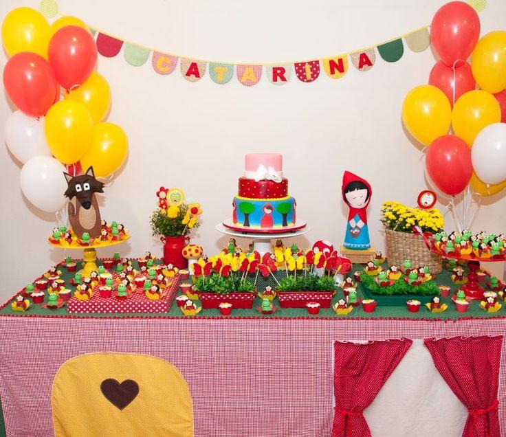 festas chapeuzinho vermelho - Pesquisa Google