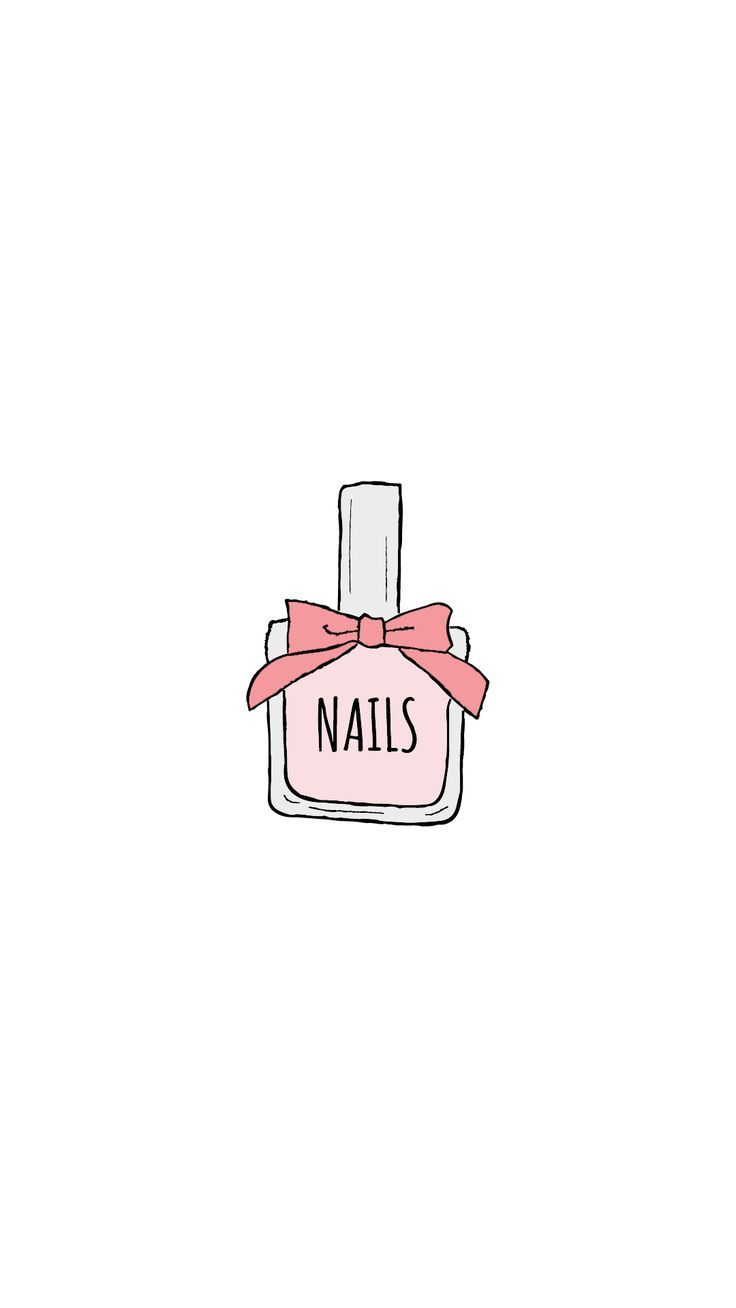 icons instagram highlight highlights story pastel icon nail template nails polish clipart beauty insta drawing cute hand bottle blogger background
