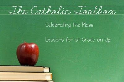 Celebrating the Mass Lesson Plans- Lesson plans for the new Missal that is to be implemented November 27, 2011. There are 22 lessons posted to help students learn the parts of the Mass. The lessons will provide catechists, teachers, or parents with activities, crafts, games, puzzles, worksheets, etc. to use with their students or child to learn what goes on during Mass and what they should do. These lessons are geared for students first grade on up.