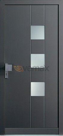 24 best contemporary front entry doors images on pinterest for Disenos de puertas de aluminio