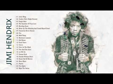 Jimi Hendrix Greatest Hits - Jimi Hendrix Collection HD HQ