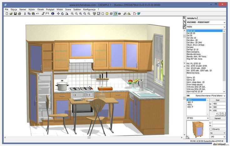 Beautiful Furniture And Interior Design Software Free Download Allowed To The W Free Kitchen Design Kitchen Design Software Free Kitchen Design Software