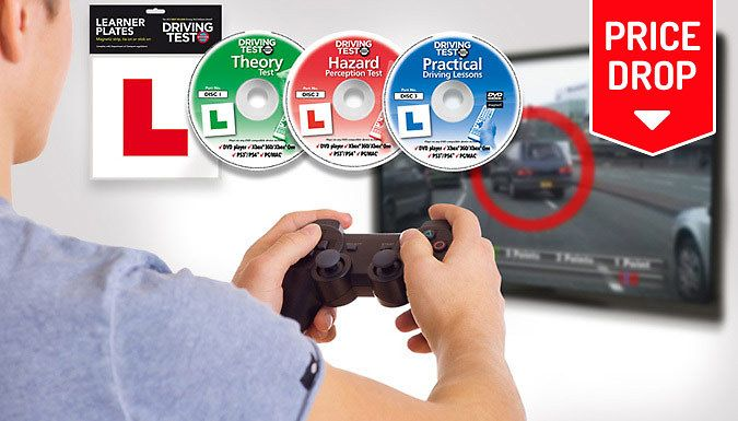Buy Premium Learner Driver Pack for PC, Mac, Xbox & Playstation for just £7.99 Aim to pass with the Premium Learner Driver Pack      Set includes:                Theory Test          Hazard Perception Test          practical driving lessons          Highway Code          mock driving test          'Show Me, Tell Me'                  Make sure you're ready for test day with the Learn to...