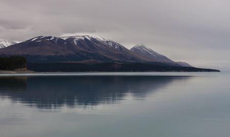 Lake Pukaki, Canterbury, New Zealand- The Silent Landscape Photo by Emanuele Del Bufalo