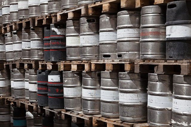 Empty Barrels which have a Loud Sound