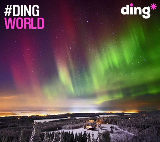 Isn't this beautiful? Where in the world would you see this mesmerising spectacle? #dingworld
